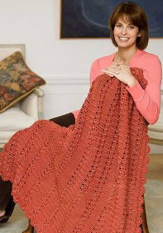Ravelry: Trefoil Throw pattern by Darla J. Fanton...free pattern