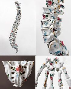 Anatomical Ceramic Sculptures by Maria Garcia-Ibáñez - Contemporary Art Anatomy Sculpture, Sculpture Art, Ceramic Sculptures, Sculpture Ideas, Contemporary Ceramics, Contemporary Art, Maria Garcia, Art Rupestre, Inspiration Artistique