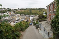 "Roscarrack Hill, Port Isaac - you might recognize this as ""Port Wenn"" - Doc Martin's home & surgery ..."