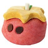 Mumkin bubble bar: Crumble this cutie up for mounds of raspberry-scented bubbles.
