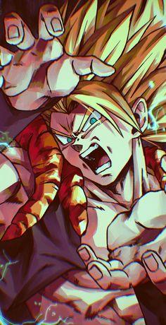 Dragon Ball Z, Dragon Z, Cool Anime Wallpapers, Animes Wallpapers, Poka Arts, Gogeta And Vegito, Pixel Animation, Anime Fight, Black Clover Anime