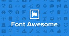 All of the Free and Pro icons available in Font Awesome 5