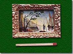 Sylvie du Paty du Clam,  The Atelier des Chevau-Légers - Varnished gouache on paper