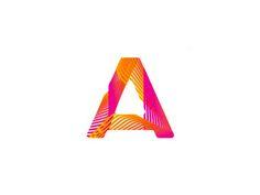 A  mobile apps developer logo design symbol by alex tass