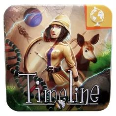 Timeline Science and Discoveries Educational Card Game