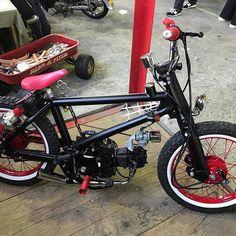 Photos and Videos Honda Grom, Honda Cub, Motorcycle Design, Bike Design, E Skate, Motorised Bike, Motorized Bicycle, Mini Bike, Gliders