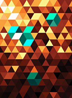 Outlier - Sam Rowe  Finally got the triangle grid working… now I can't stop doing triangles.   Prints!  Tumblr