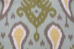 "Love this pattern, pricey though!  Two  96""L x 50""W  Custom  Curtain Panels  - Rod Pocket Panels -  Dwell Studio. $199.00, via Etsy."