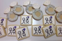 Proposal - Decorated Sugar Cookies by I Am The Cookie Lady