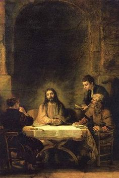 Christ in Emmaus. High quality vintage art reproduction by Buyenlarge. One of…