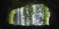 Inside Cave Waterfalls - Bing images