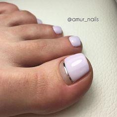 Romantic pedicure designs for summer in pastel shades Pedicure Designs, Pedicure Nail Art, Toe Nail Designs, Mani Pedi, Gel Toe Nails, Toe Nail Art, My Nails, Pretty Toe Nails, Cute Toe Nails