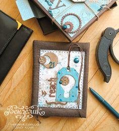 opko: Рукодільна хатинка: Подарунковий чоловічий набір., листівки ручної роботи, скрапбукінг