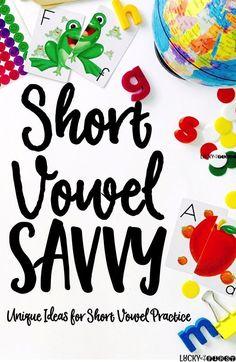 Short Vowel Savvy! T
