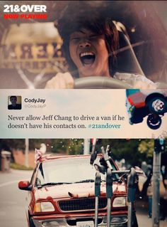 21 and Over hahahah xD 21 And Over, Joy Ride, Drive A, Great Tv Shows, Funny Movies, Have A Laugh, Movie Tv, 21st, In This Moment