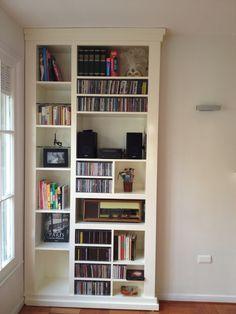 Mueble para discos y libros de mi depto. Santiago 8c884ef17a46