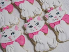 The Aristocats Decorated Sugar Cookies by MartaIngros on Etsy, $30.00