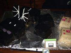 Enderdragon Cake custom made by my amazing sister