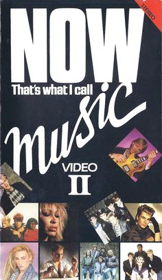 NOW That's What i Call Music 2 - VHS