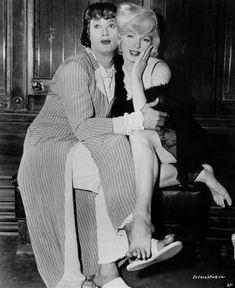 La foto di Marilyn Monroe struccata