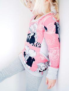 Vaahtokarkkimonsteri: Taskujen ystävä Floral Tops, Pocket, Instagram Posts, Shirts, Patterns, Women, Fashion, Block Prints, Moda