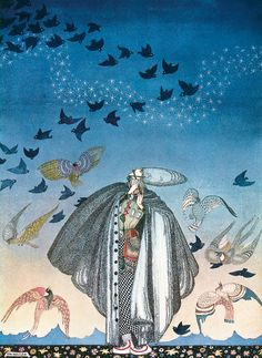 "Kay Nielsen, illustration from ""The Three Princesses in the Blue Mountain"" (""No sooner had he whistled ... ""), 1914. All images © Courtesy of TASCHENIf you've seen Fantasia, you are, whether you know it or not, familiar with the work of Kay Nielsen, a Danish artist whose illustrations collide light and dark in sublime, often... <a href=""http://www.theparisreview.org/blog/2015/12/03/east-of-the-sun-and-west-of-the-moon/"">Read More</a> <span class=""link"">»</span>"