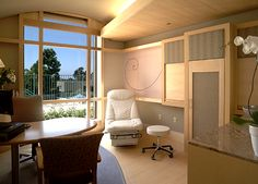 Exam Room at the Scripps Center for Integrative Medicine