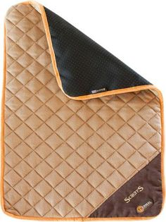 Self-heating pet mat is perfect for dog crates, cars, and on top of pet beds. This heated dog bed has a layer of insulating foil to keep dogs or cats warm on cold winter days.