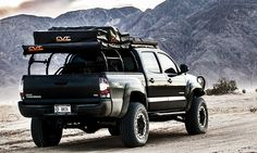 All-Pro Expedition Series Pack Rack Overland Tacoma, Tacoma 4x4, Overland Gear, Overland Truck, Custom Tacoma, Toyota Tacoma Roof Rack, Toyota Tacoma Trd, Toyota Hilux, Truck Tent
