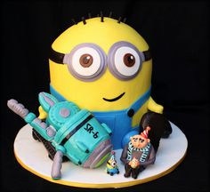 Despicable Me Birthday Cake Movie Cakes Biscuits Designs Amazing