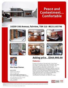 10209-106 Avenue  Fairview, Alberta MLS L105796