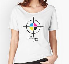 """My Northern Star"" T-Shirts & Hoodies by Patty Pattern | Redbubble"