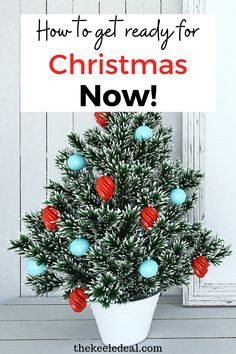 10 ways to get ready for Christmas Now! These helpful tips will make for a less stressful Christmas. Diy Christmas Gifts, Family Christmas, Christmas Photos, Christmas Projects, Christmas And New Year, All Things Christmas, Christmas Wreaths, Christmas Decorations, New Years Party