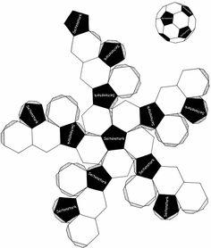 zzzebra - Bastele dir einen Fußball aus Papier | SportSpatz.de
