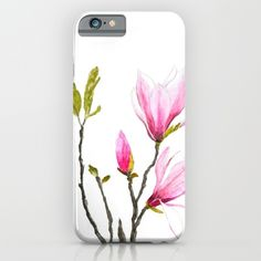 magnolia++iPhone+&+iPod+Case+by+Color+And+Color+-+$35.00