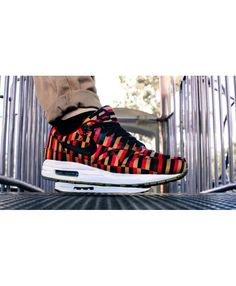3c4a51b3088a (LY96L) Nike Air Max 1 London Underground Red Black Online