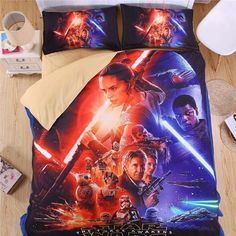 Beautiful Star Wars Style 3D Bedding Set Print Duvet cover Twin/ Full/ Queen/ King Good quality