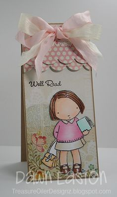 Well Read TLC392 by TreasureOiler - Cards and Paper Crafts at Splitcoaststampers