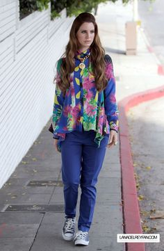 On the Set of a Versace Photoshoot in West Hollywood