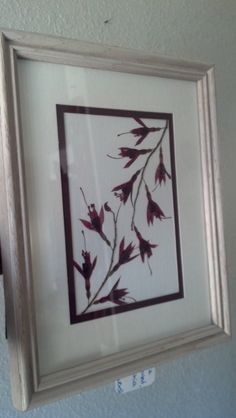 Real+Pressed+Flowers+in+8+x+10+Frame+Fuchsia+by+FlowerFelicity,+$17.99