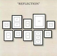 Reflection-style frame setup ♡