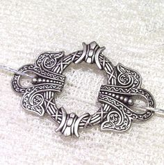 Silver Celtic Shawl Pin Celtic Scarf Pin by SterlingSimplicity, $18.00