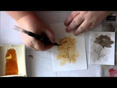 Watercoloring with Aqua Painters at Amy's Inklings - YouTube