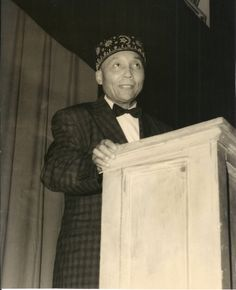 """Original 8""""X10"""" Photograph - Elijah Muhammad (Elijah Robert Poole; , 1897 – 1975)   led the Nation of Islam from 1934 until his death in 1975. He was a mentor to Malcolm X, Louis Farrakhan & Muhammad Ali $295"""