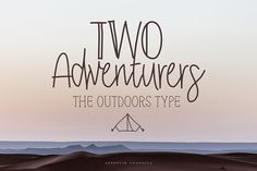 Two Adventurers Font + Bonus @creativework247