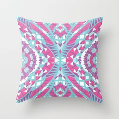 NEW: Mix #446 Throw Pillow by Ornaart - $20.00