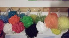 Divagando al bajar la escalera: esponjas de colores