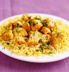 Quorn Chicken Korma - Vegetarian.
