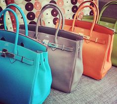 Hermes Bag....if you ever see me with one of these I secretly won the lottery!! ;)