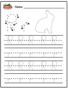 Free Prinatble Aphabet Pages ~Preschool Alphabet Letters Trace